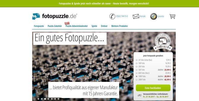 Fotopuzzle Erfahrungen